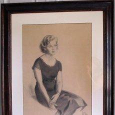 Arte: ALEXANDRE COLL BLANCH ( 1898 - 1975) DIBUJANTE, GRABADOR, PINTOR Y ESPECIALMENTE ACUARELISTA.. Lote 93806265