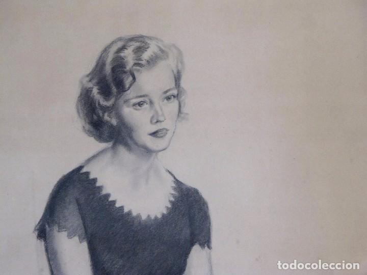 Arte: ALEXANDRE COLL BLANCH ( 1898 - 1975) DIBUJANTE, GRABADOR, PINTOR Y ESPECIALMENTE ACUARELISTA. - Foto 2 - 93806265