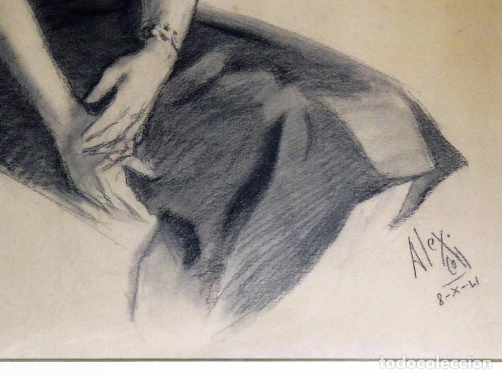 Arte: ALEXANDRE COLL BLANCH ( 1898 - 1975) DIBUJANTE, GRABADOR, PINTOR Y ESPECIALMENTE ACUARELISTA. - Foto 3 - 93806265