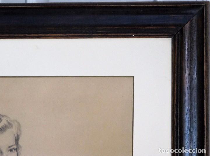 Arte: ALEXANDRE COLL BLANCH ( 1898 - 1975) DIBUJANTE, GRABADOR, PINTOR Y ESPECIALMENTE ACUARELISTA. - Foto 5 - 93806265