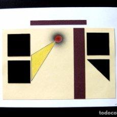 Arte: MARTYN [Ó MARTÍN] PRADO FOENKINOS: 'A LA MANERA DE KLEE I', DIBUJO Y COLLAGE/CARTULINA, FDO. Y FECHA. Lote 94644243