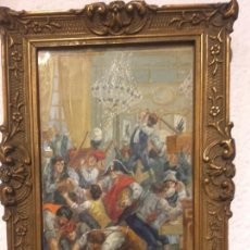 Arte: PINTURA GUACHE REVOLUCIONARIA FRANCESA. Lote 94782291