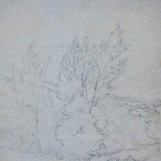 Arte: DIONÍS BAIXERAS Y VERDAGUER (1862 - 1943) - PAISAJE RURAL. Lote 91569755