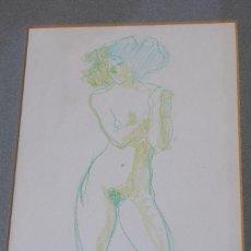 Arte: EMILIA CASTAÑEDA - DIBUJO FIRMADO. Lote 95352379