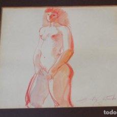 Arte: EMILIA CASTAÑEDA - DIBUJO FIRMADO. Lote 95353307