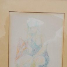 Arte: EMILIA CASTAÑEDA - DIBUJO FIRMADO. Lote 95356847