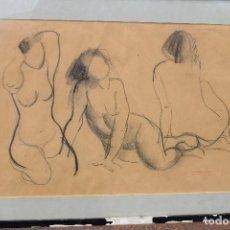 Arte: EMILIA CASTAÑEDA - DIBUJO FIRMADO. Lote 95357435