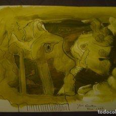 Arte: JOAN COMELLAS. DIBUJO Y ACUARELA. 25 X 32'5. Lote 95418475