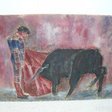 Arte: CERA - ANÓNIMA - ATRIBUIDO A ALCALÁ VARGAS -SUERTE TAURINA. Lote 95626703