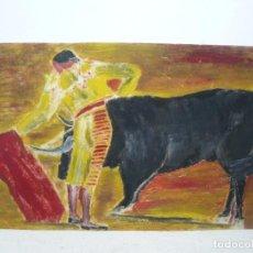 Arte: CERA - ANÓNIMA - ATRIBUIDO A ALCALÁ VARGAS -SUERTE TAURINA. Lote 95626855