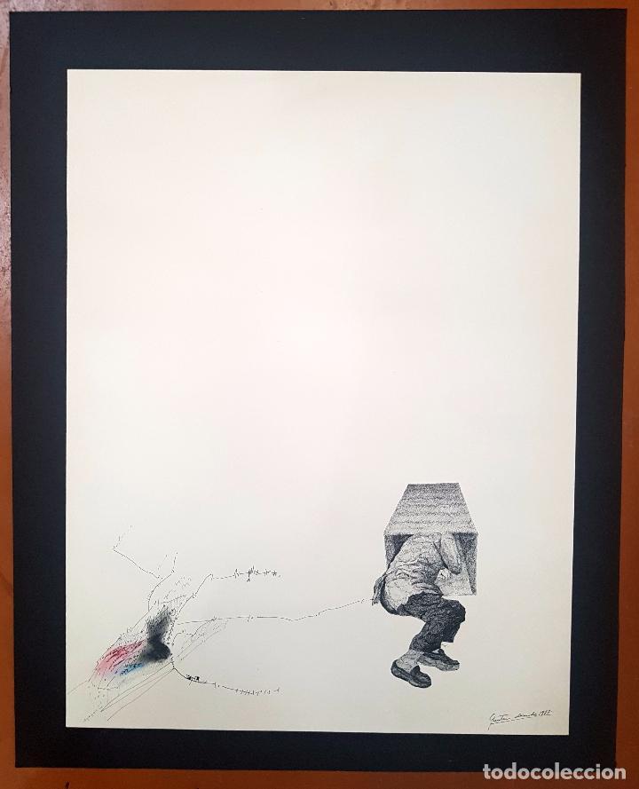 Arte: AUTORIA DESCONOCIDA. TECNICA MIXTA FECHADO DEL AÑO 1977 - Foto 2 - 95806263
