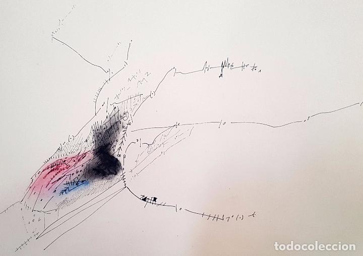Arte: AUTORIA DESCONOCIDA. TECNICA MIXTA FECHADO DEL AÑO 1977 - Foto 4 - 95806263