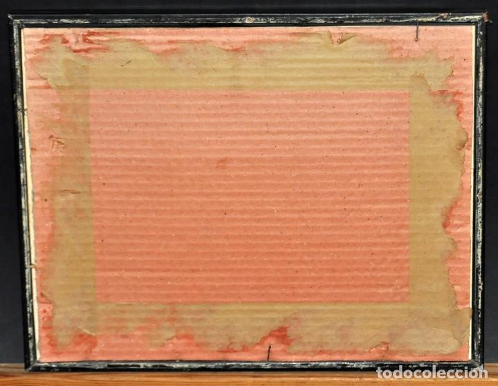 Arte: FIRMADO B. ROMÁN. DIBUJO A TINTA Y ACUARELADO. FECHADO DEL 1930 - Foto 6 - 96067147
