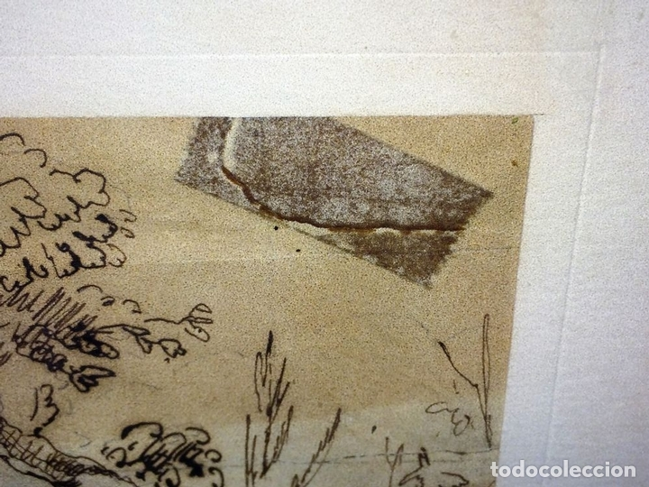 Arte: DIONISOS NIÑO. TINTA SOBRE PAPEL. FIRMA DESCONOCIDA. FRANCIA(?). XVII-XVIII - Foto 5 - 97276539