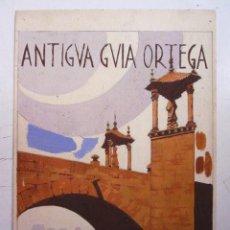Arte: ORIGINAL PINTADO A MANO PARA LA ANTIGUA GUIA ORTEGA VALENCIA AÑO 1931. Lote 97765883