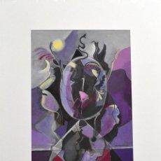 Arte: ANGEL BALDOVINO. TEMPERA. MALLORCA. BALEARES. Lote 97915715