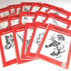 Arte: LECCIONES DE DIBUJO ARTÍSTICO. LOTE DE 17 SERIES. EMILIO FREIXAS. EDITOR S. E. MESEGUER. 1964.. Lote 97937031