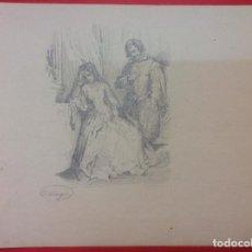 Arte: FRANCISCO JAVIER ORTEGA. ESCENA.. Lote 98143031