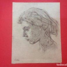 Arte: SERRA. RETRATO DE DAMA E PERFIL.. Lote 98144151