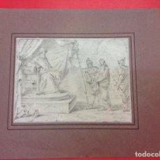 Arte: JOHANN VON AACHEN. JESÚS ANTE PILATOS. SIGLO XVI/XVII.. Lote 98436327