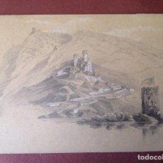Arte: AB. PAISAJE Y CASTILLO.. Lote 98630431