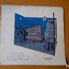 Arte: ESCAPARATISMO DE BERNET MUSONS PARA MODAS CASTAÑER. EL PLA DE LA BOQUERIA. CA 1960. Lote 99179455