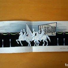 Arte: MAQUETA PUBLICITARIA DE BERNET MUSONS PARA EL TEATRO PRINCIPAL FIESTA DE ELS TRES TOMS. CA 1960.. Lote 99185223