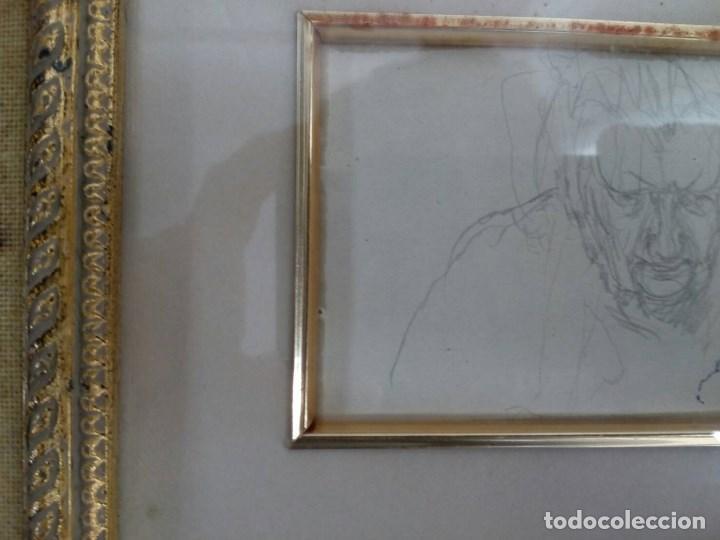 Arte: NICANOR PIÑOLE (1.878 -1.978), RETRATO DE SU MADRE, BRÍGIDA RODRÍGUEZ PRENDES, LÁPIZ SOBRE PAPEL - Foto 8 - 99354299