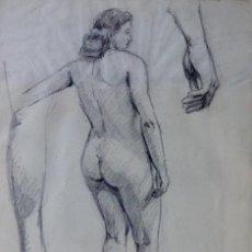 Arte: ALFREDO OPISSO CARDONA (BARCELONA 1907 - MATARÓ 1980) DIBUJO ORIGINAL SOBRE PAPEL. Lote 99882255