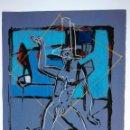 Arte: LUIS COHEN FUSÉ (BUENOS AIRES 1944), TÉCNICA MIXTA, 1974. 50X65CM. Lote 100133647