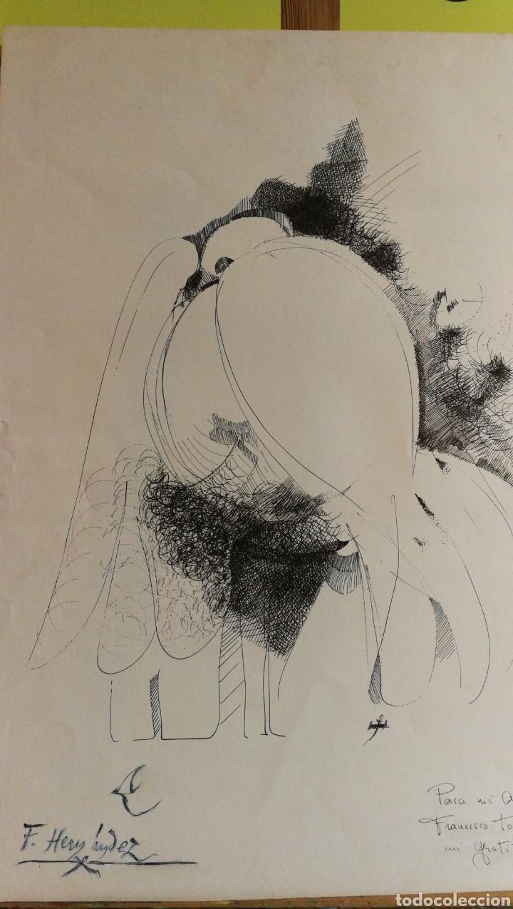 Arte: Paco Hernández / Francisco Hernández dibujo a plumilla - Foto 2 - 100425224