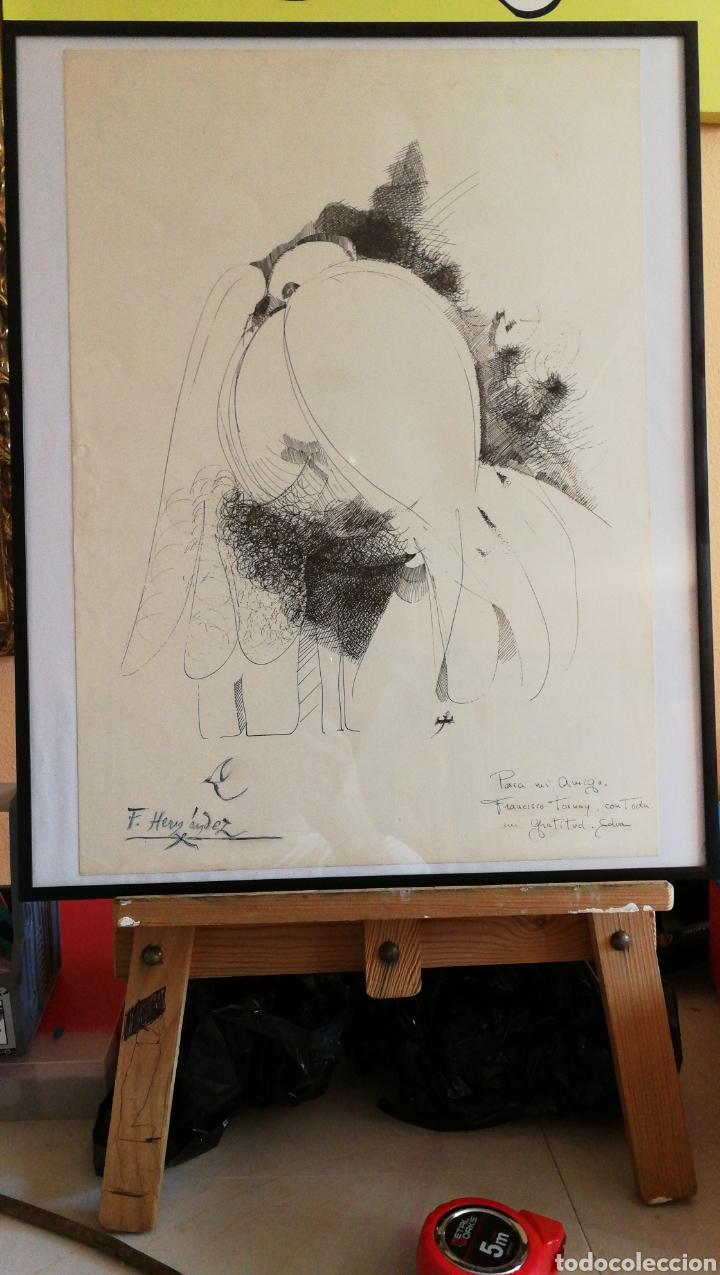 Arte: Paco Hernández / Francisco Hernández dibujo a plumilla - Foto 8 - 100425224