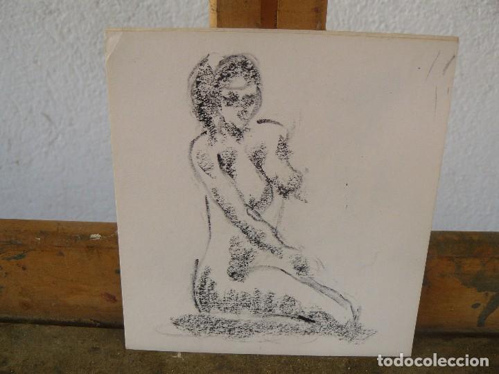 Arte: DIBUJOS A LAPIZ Y CARBONCILLO. - DESNUDOS FEMENINOS- M - - Foto 3 - 100497103