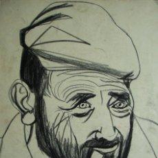 Arte: JORDI CUROS CERAS/CARTULINA 50 X 35 CM. FIRMADO Y FECHADO 1952.. Lote 100529139