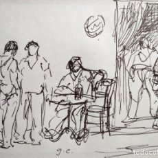 Arte: DIBUJO FIRMADO GC .....(??) ...... Lote 101155607