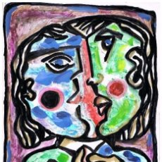 Arte: PARLADOIRO ROTO - DIBUJO ORIGINAL DE FELIPE SENÉN ( GALICIA ). Lote 101530911