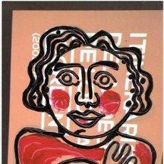 Arte: PÚDICO - DIBUJO ORIGINAL DE FELIPE SENÉN ( GALICIA ). Lote 101591743