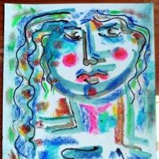 Arte: FIDA - DIBUJO ORIGINAL DE FELIPE SENÉN ( GALICIA ). Lote 101597671