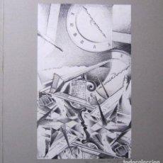 Arte: DIBUJO CARPETA DE FERNANDO VERDUGO. DEDICADO, DOBLE FIRMA. Lote 102548723