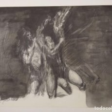 Arte: INTERESANTE OBRA A CARBONCILLO - FIRMADA POR EL ARTISTA. Lote 102619015