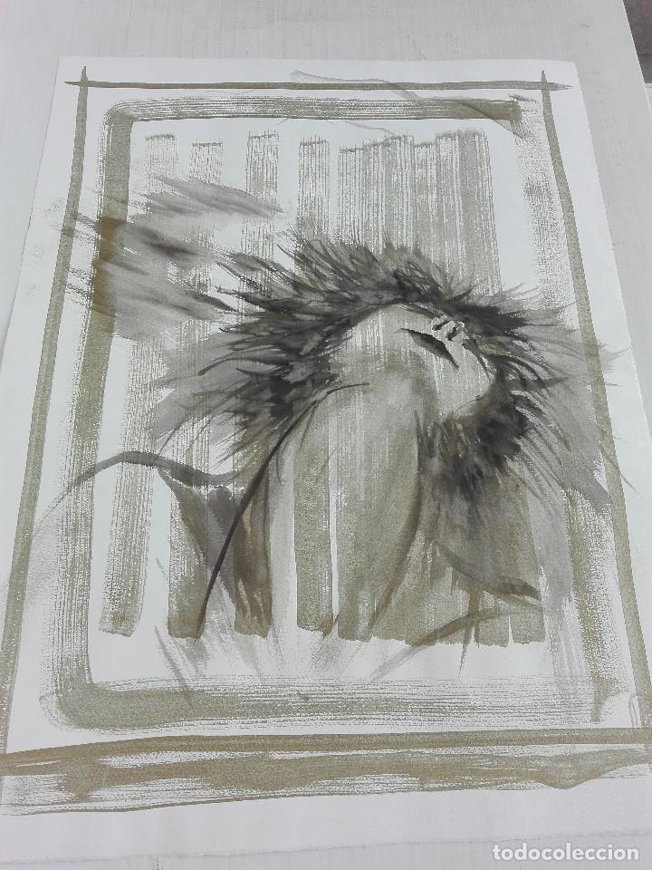 LIEF BRUILANT, MIXTA PAPEL (Arte - Dibujos - Contemporáneos siglo XX)