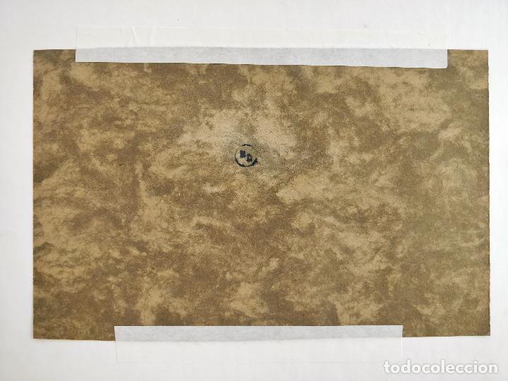Arte: ROBERTO DOMINGO Y FALLOLA, DIBUJO ORIGINAL A TINTA, FIRMADO Y CON CUÑO SELLO DEL PINTOR - Foto 3 - 102789671