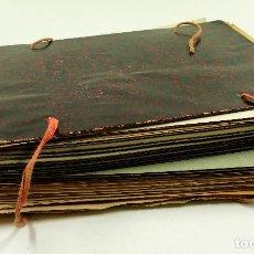 Arte: GRAN LOTE DE 156 DIBUJOS DE INTERIORISMO 1920, ACUARELAS Y DIBUJOS SOBRE PAPEL. Lote 102933555