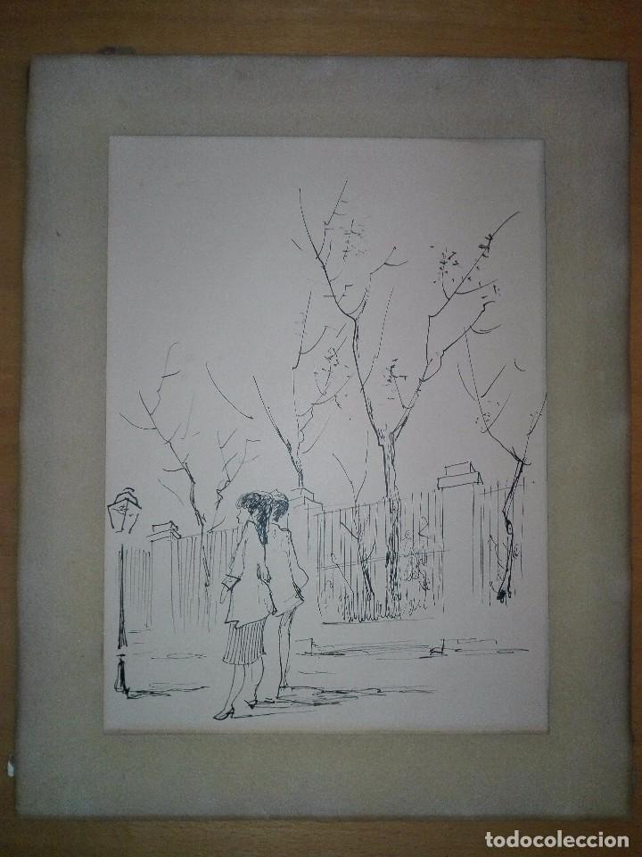 verja del jardín botánico de madrid, dibujo ori - Comprar Dibujos ...