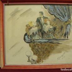 Arte: PAPEL, TINTA, ACUARELA 1948 AÑO. Lote 103444923