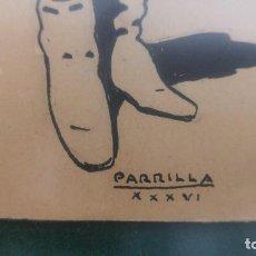 Arte: DIBUJO A PLUMILLA POR ADELARDO PARRILLA CANDELA. Lote 103721999