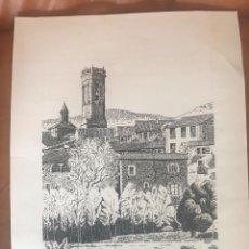 Arte: DIBUJO A TINTA DE RUPIT , ANTONIO MORALES 1981. . Lote 103918755