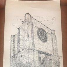Arte: DIBUJO A TINTA DE ANTONI MORALES 1981. . Lote 103936531