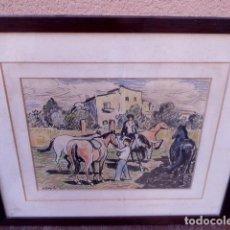 Arte: DIBUJO TECNICA MIXTA.SEBASTIA CONGOST.. Lote 104100219