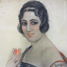 Arte: BATALLA (ILUSTRADOR MARTINI ROSSI) AÑOS 1920-30. OBRA ORIGINAL FIRMADA. 50 X 37 CTMS. TÉCNICA MIXTA.. Lote 104192747